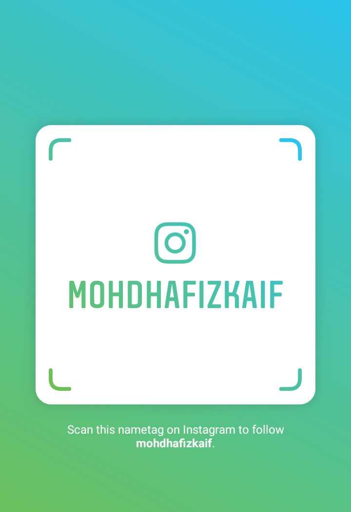m s dhoni - MOHDHAFIZKAIF Scan this nametag on Instagram to follow mohdhafizkaif . - ShareChat