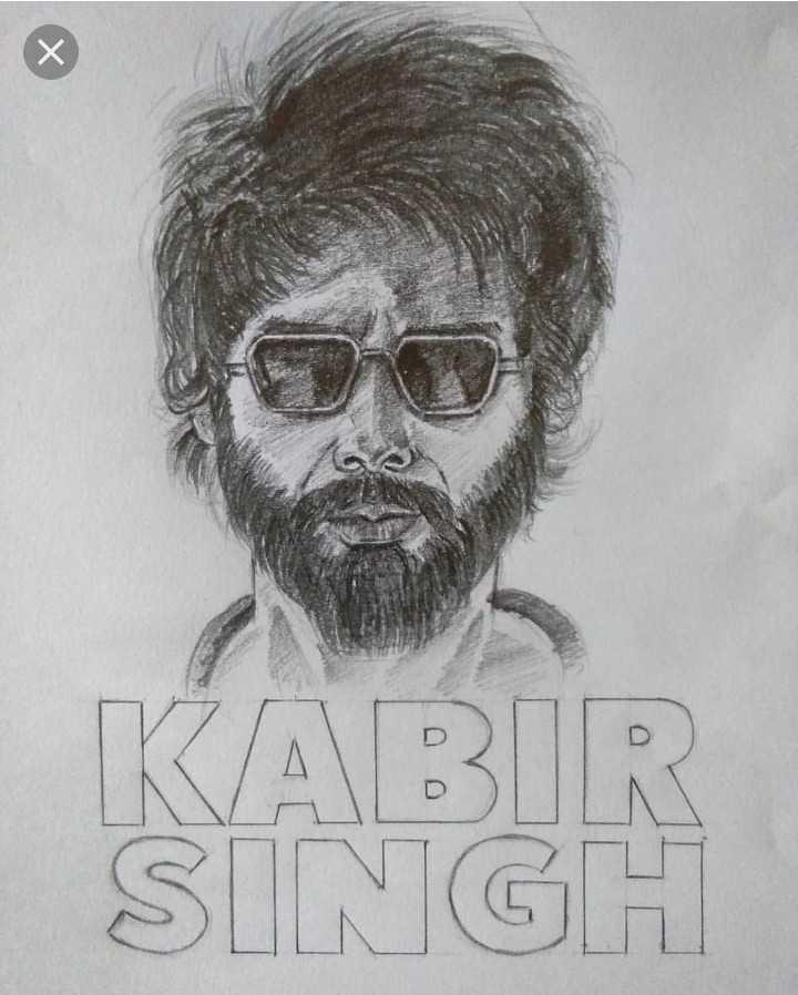 my art - KABIR SINGH - ShareChat