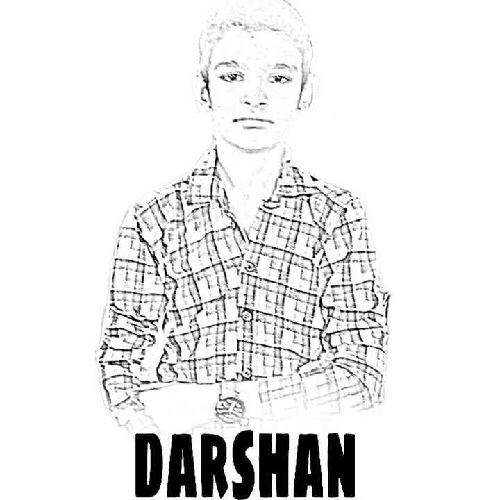 my drawing - UA DARSHAN - ShareChat