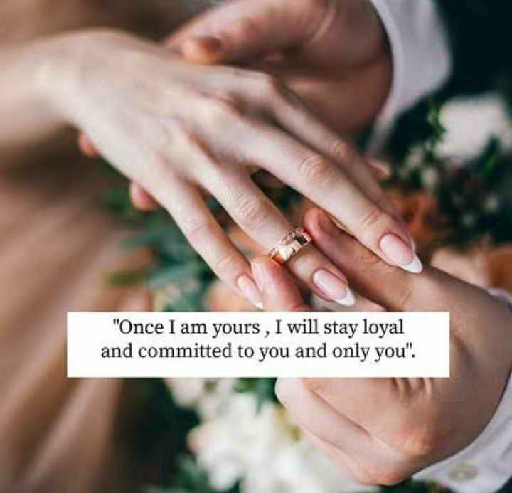 💖💝my feeling💝💖 - Once I am yours , I will stay loyal and committed to you and only you . - ShareChat