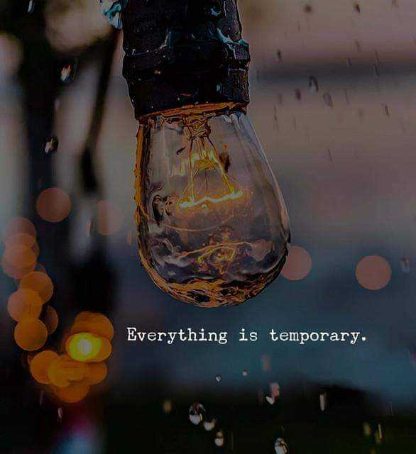 my life, my rules 🤐 - Everything is temporary . - ShareChat