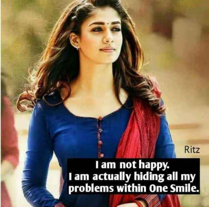 😖my life - Ritz I am not happy . I am actually hiding all my problems within One Smile . - ShareChat