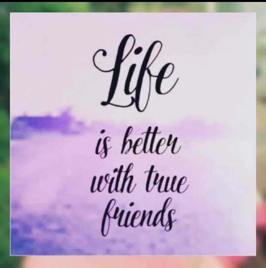 my life - Life is better with true friends - ShareChat