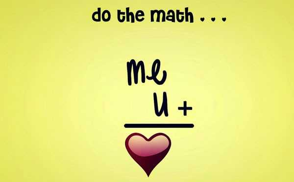 my love❤😘 - do the math . . . Me U + - ShareChat