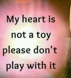 my love my attitude😯😯 - My heart is not a toy please don ' t play with it - ShareChat