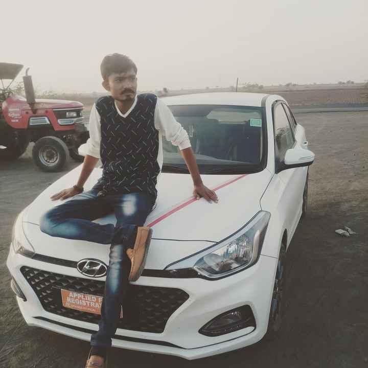 my pic - Arjun AREON APPLIED F REGISTRA BORANGE HYUNDAI - ShareChat