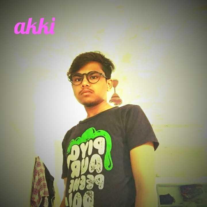 my pic - akki - ShareChat