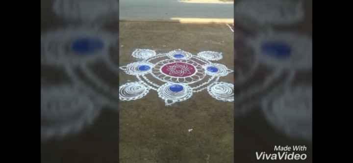 💕my rangoli 💕 - Made With VivaVideo - ShareChat