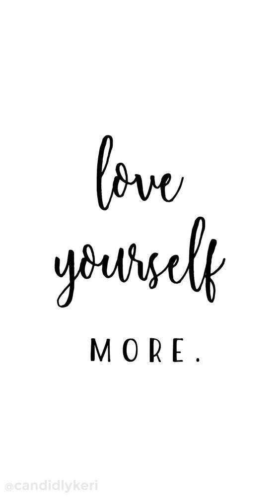 myself - love yourself MORE @ candidlykeri - ShareChat
