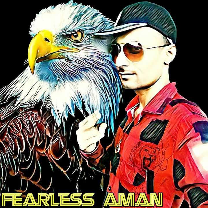 my selfie.    .... - FEARLESS AMAN - ShareChat