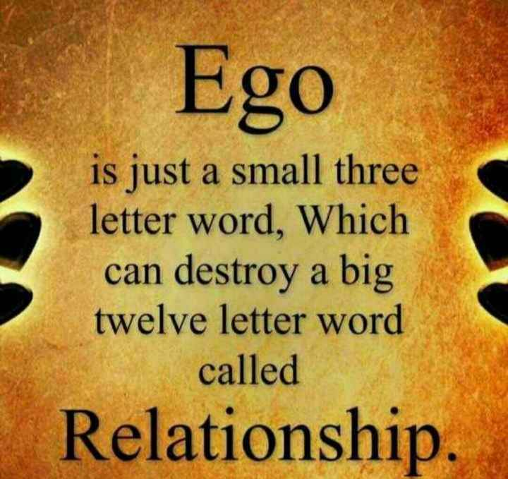 my thought 🌹🌹🌹🌹🌹🌈 - Ego is just a small three letter word , Which can destroy a big twelve letter word called Relationship . - ShareChat