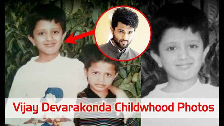 naa favrate hero - Vijay Devarakonda Childwhood Photos - ShareChat