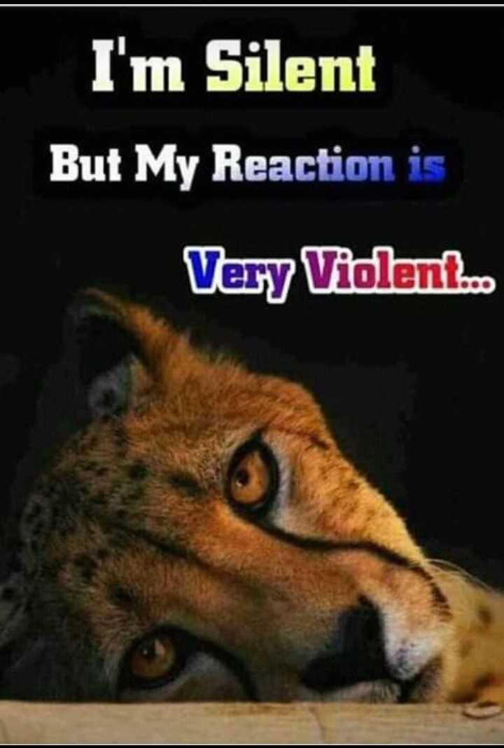 naa  feelings - I ' m Silent But My Reaction is Very Violenko - ShareChat