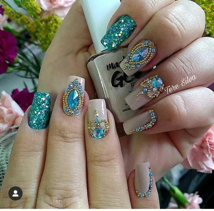 nail 💅 art 🎨 - ma Tere Sila - A9 AI RECIO - ShareChat