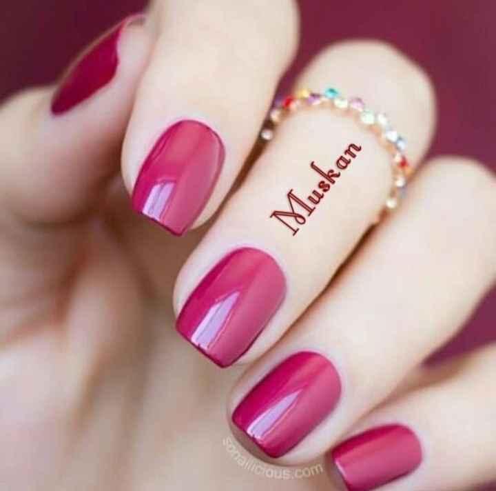 nail art 💅 - Muskan Cous com - ShareChat