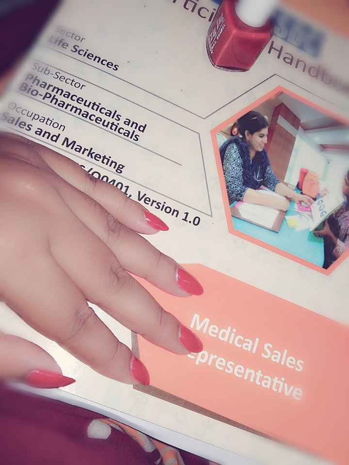 nail 💅 art 🎨 - tici Sector Life Sciences Handle Sub - Sector Pharmaceuticals and Bio - Pharmaceuticals Occupation Sales and Marketing 00101 , Version 1 . 0 Medical Sales - presentative - ShareChat