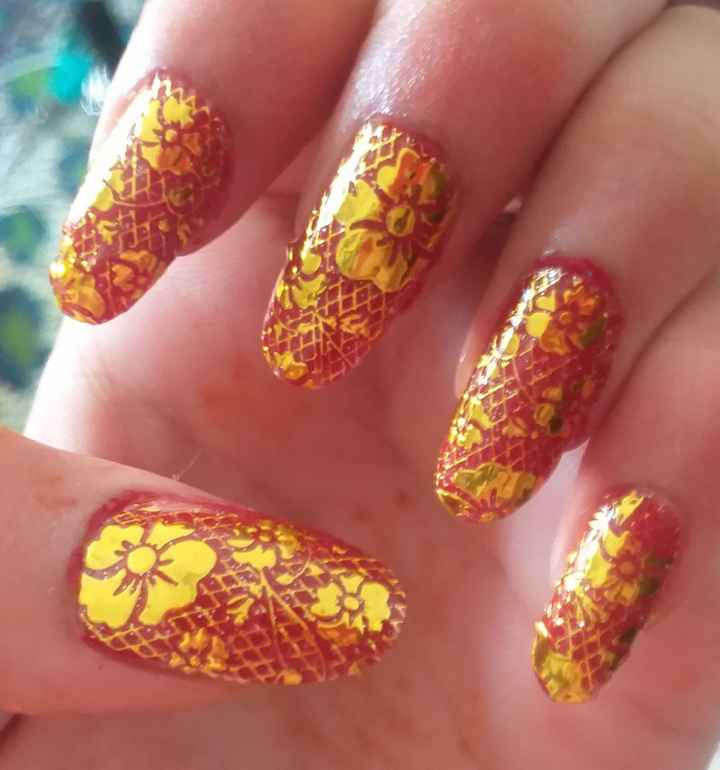 nail art💅 - ShareChat