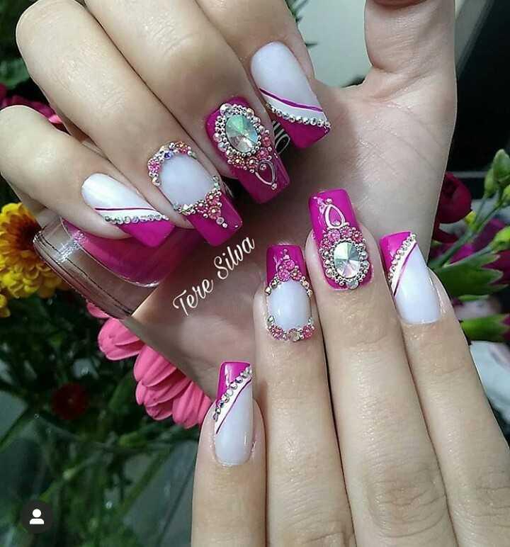 nail 💅 art 🎨 - 2 Tere Silva 1 . - ShareChat