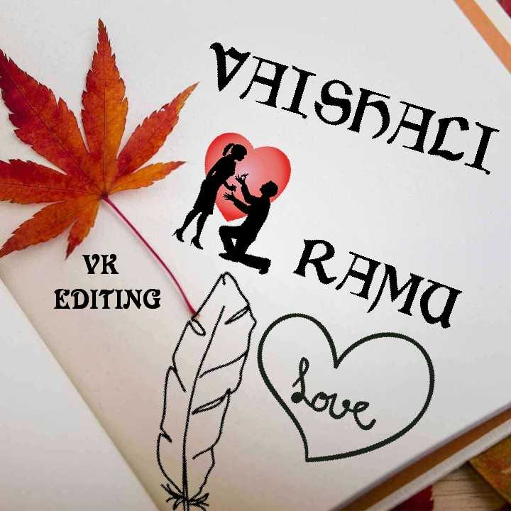 name arts - VAISHALI 2 RAMU VK EDITING رعية - ShareChat