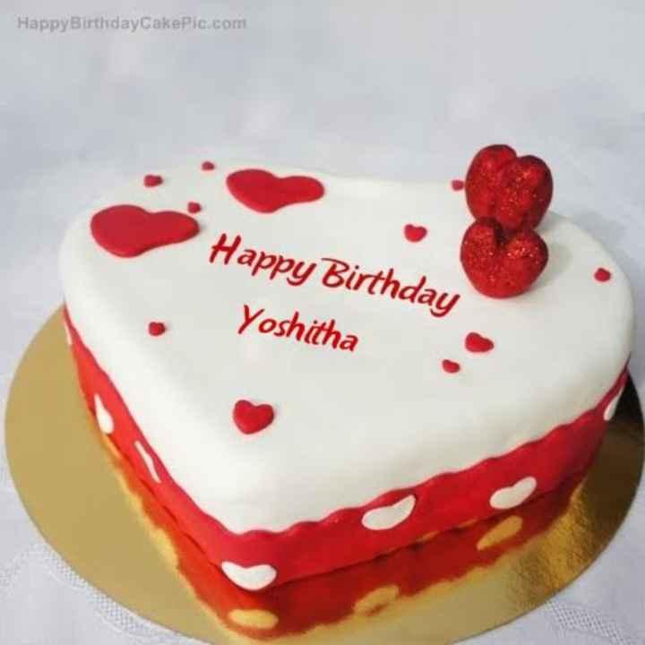 na per loni modati aksharam - Happy Birthday CakePic . com Happy Birthday Yoshitha - ShareChat