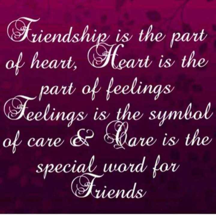 natpu - | Friendship is the part of heart , Heart is the part of feelings Feelings is the symbol of care & Care is the special word for Friends - ShareChat