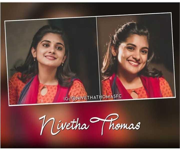 nevedha fan's ekkada - IG / @ NIVETHATHOMASFC Nivetha Thomas - ShareChat