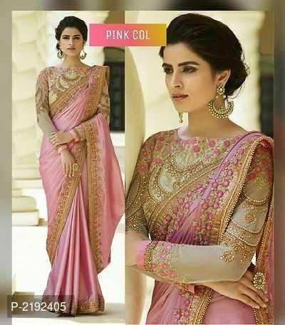😉new sarees - PINK COL P - 2192405 - ShareChat