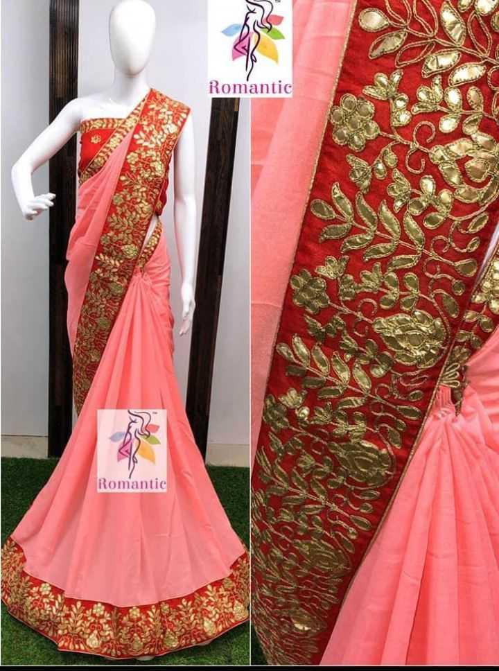new sari - Romantic Romantic - ShareChat