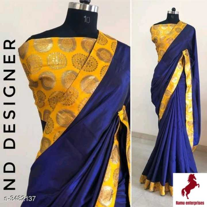 new sari - END DESIGNER S - 3482137 Ramu enterprises - ShareChat