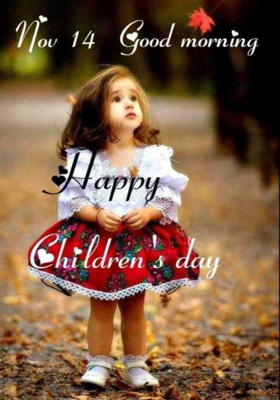 nv - Nov 14 Good morning OU yood mornin Children ' s da - ShareChat
