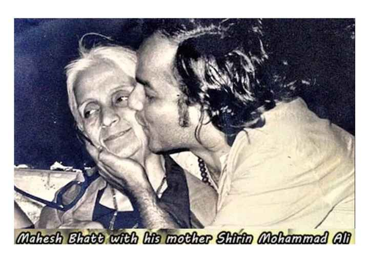 old is gold - Mahesh Bhate with his mother Shirin Mohammad Ab - ShareChat