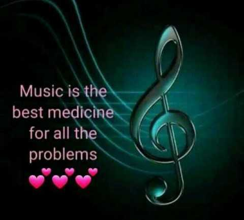 only music - Music is the best medicine for all the problems - ShareChat