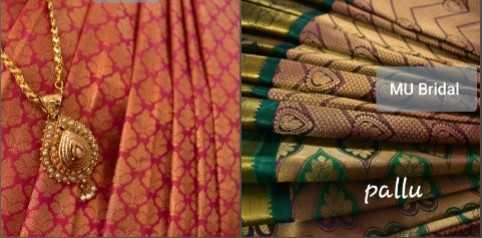 pattu sarees - MU Bridal pallu - ShareChat