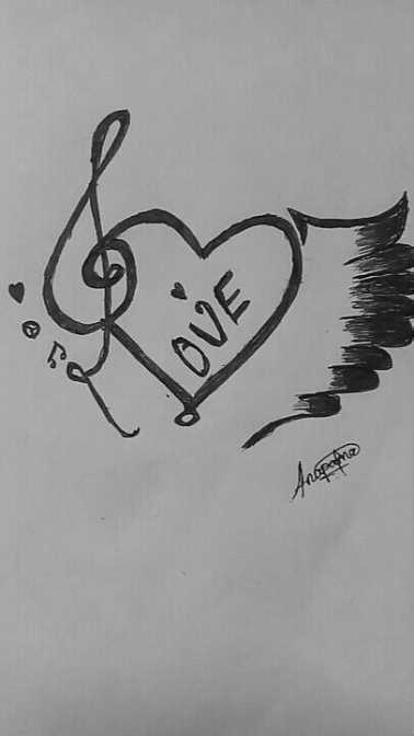 #pencil drawing - confortor of I LOVE - ShareChat