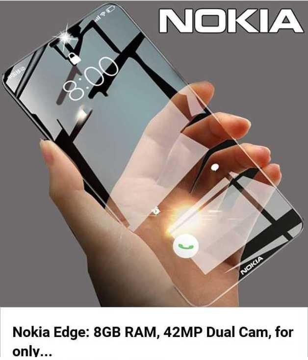 photo - shoot - NOKIA NOKIA Nokia Edge : 8GB RAM , 42MP Dual Cam , for only . . . - ShareChat