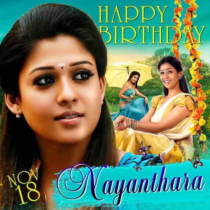 poster - HAPPY BIRTHDAY MS Nayanthara - ShareChat