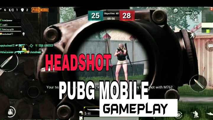pubg lovers - - 6 K / D 1 2 PUBG MOBILE Objective : 40 25 25 sena 280 28 05 : 56 Vishal Janmar Team Rahuldlagt ap564 stavkushwah72 ajaykushwah72 VishalJammar SOUL Z BOSCO ochotabhaim 0 HEADSHOT T * PUBG MOBILE O GAMEPLAY Your te : D wyl shot with M762 . SRU - ShareChat