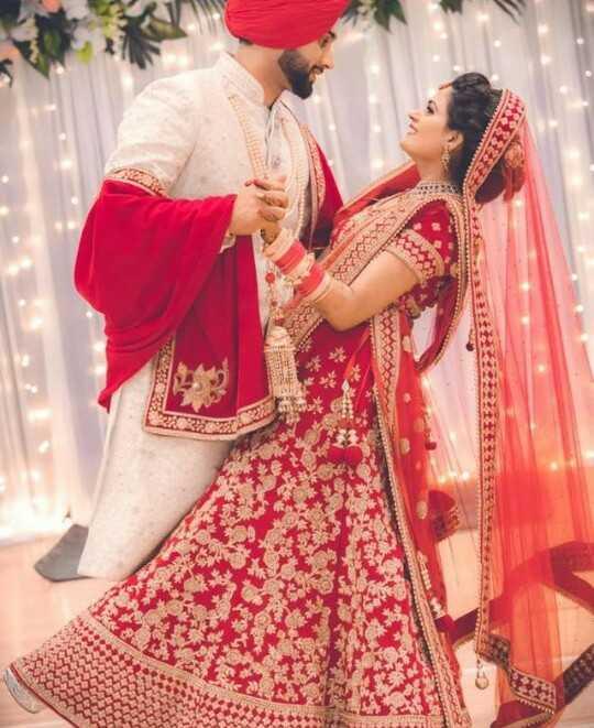💑 punjabi couples - 長在立法王至4至上 - ShareChat