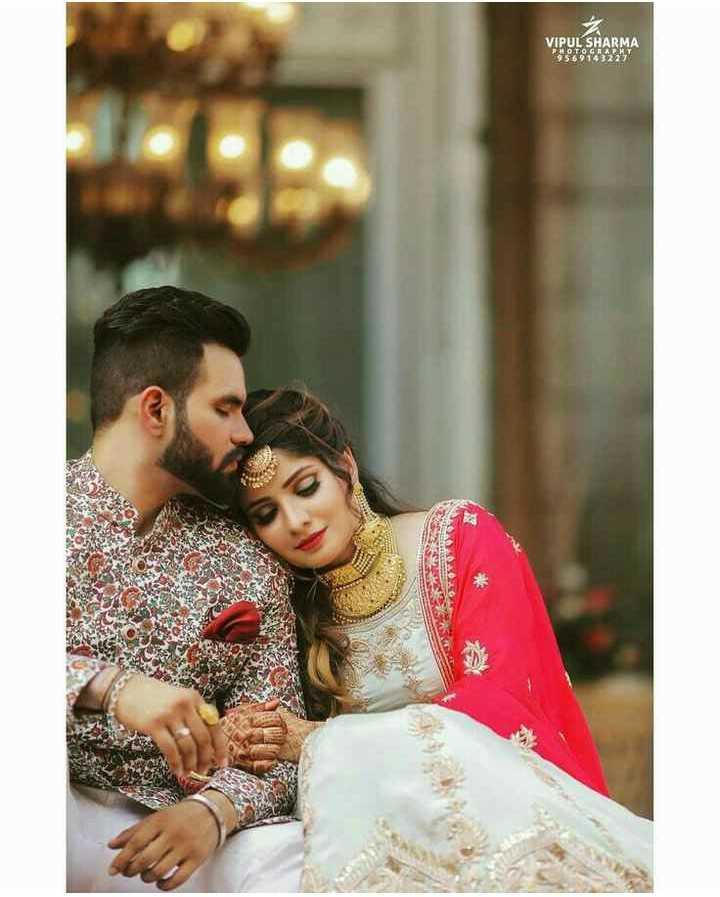💑 punjabi couples - VIPUL SHARMA POTOGRAPHY 9569143227 - ShareChat