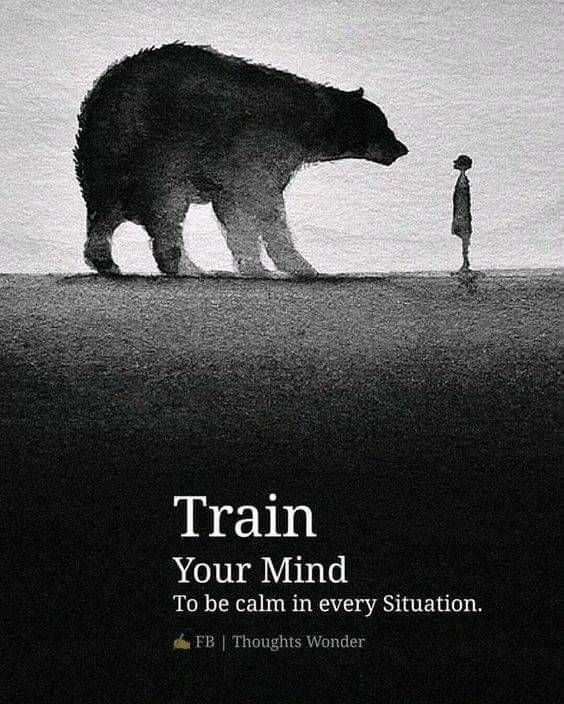 quots - Train Your Mind To be calm in every Situation . FB | Thoughts Wonder - ShareChat