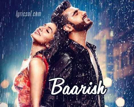 rain satus - lyricsol . com Baarish - ShareChat