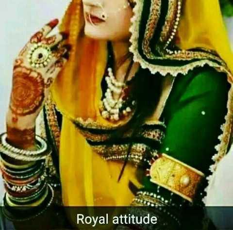 👑 rajputana_ attitude 👑 - Royal attitude - ShareChat