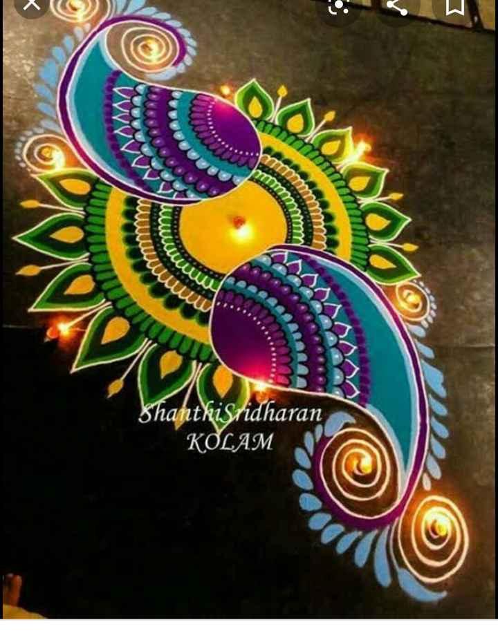 rangu rangina rangoli - Mwe uwe Shanthi Sridharan KOLAM - ShareChat