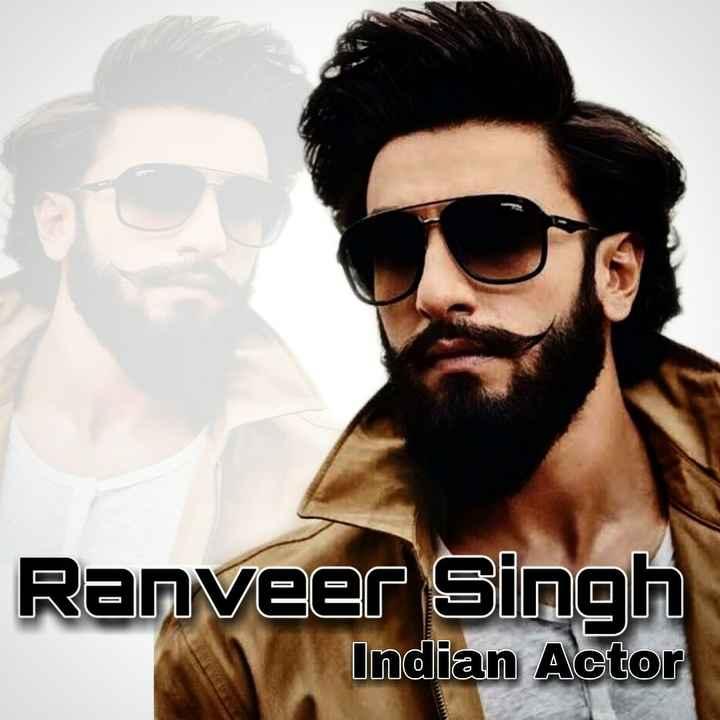 ranveer singh - Ranveer Singh Indian Actor - ShareChat