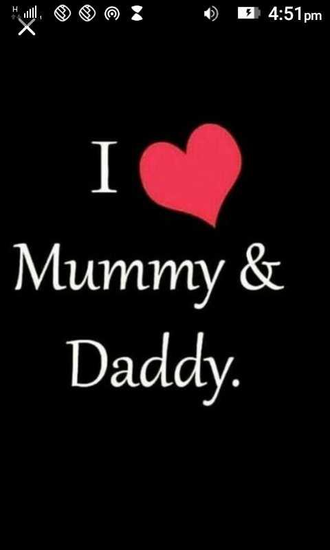 sachi - 3 4 : 51 pm Mummy & Daddy . - ShareChat