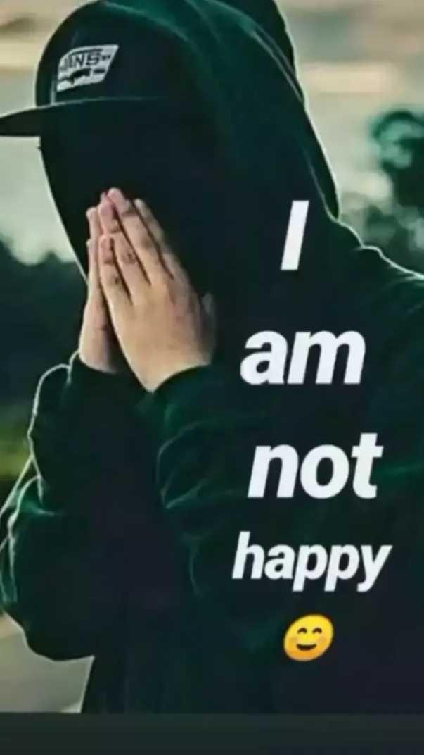 😔 sad - SINS . am not happy - ShareChat