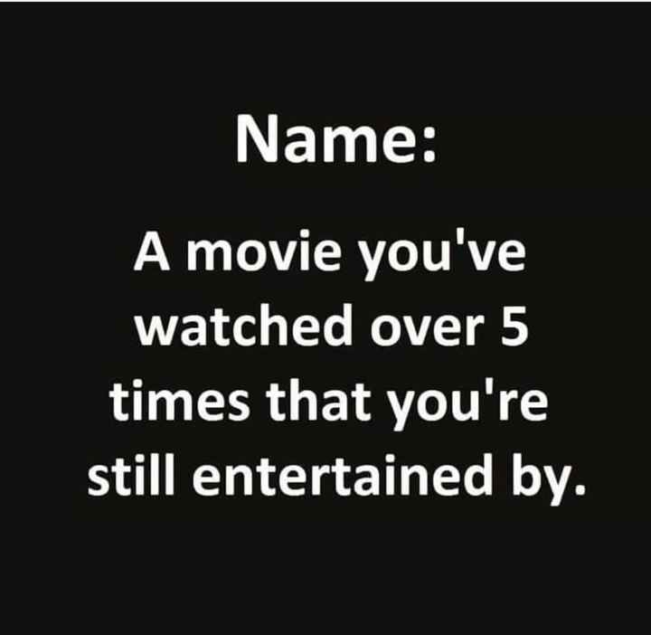 sekaram solungal - Name : A movie you ' ve watched over 5 times that you ' re still entertained by . - ShareChat