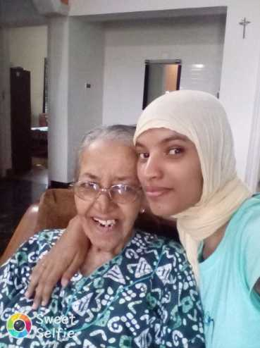 selfie grandmother 👵 - Sweet - ShareChat