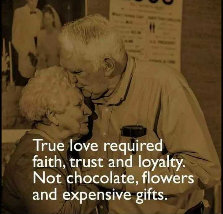 sharechat lovers😍 - True love required faith , trust and loyalty . Not chocolate , flowers and expensive gifts . - ShareChat