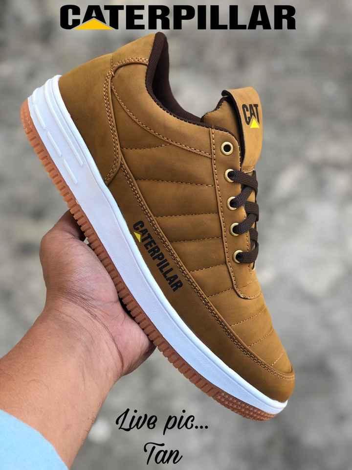 shoes - CATERPILLAR CATERPILLAR Live pic . . . Tan - ShareChat